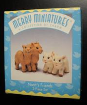 Hallmark Cards Christmas Ornament Merry Miniatures 1997 Noah's Friends B... - $7.99