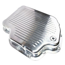 GM Turbo-Hydramatic TH400/THM400 Aluminum Transmission Pan w/ Gasket And Bolts image 2