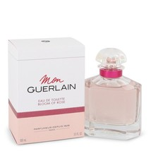 Mon Guerlain Bloom of Rose by Guerlain Eau De Toilette Spray 3.3 oz for ... - $77.37