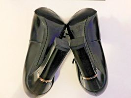 LOUIS VUITTON BLACK PUMPS SIZE 38.5 AUTHENTIC  image 4