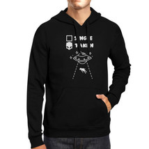 Single Taken Alien Unisex Hoodie Funny Gift Idea Single Friends - $25.99+