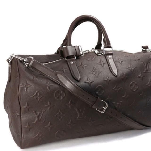 Louis Vuitton Keepall 45 M56712 Hand Shoulder Bag Brown Monogram Revelation Rare
