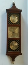 Mid Century Modern Airguide Weather Station Barometer Thermometer Hygrom... - $35.35