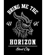 Bring Me The Horizon Poster Flag Steel City  - $12.99
