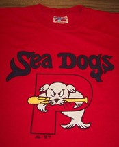 PORTLAND SEA DOGS MINOR LEAGUE BASEBALL T-Shirt Seadogs YOUTH MEDIUM - $14.85