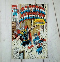 Captain America December 1991 #395 (The House that Dripped Dough) Feat. ... - $3.38