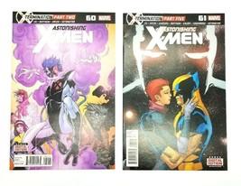 Astonishing X-men 60 & 61 Volume 3 July 2004 Series Marvel Comics Book L... - $7.84