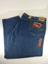 Levi 550 Jeans Men Medium Wash Relaxed Fit Big & Tall Sz 58x32 - $39.59