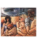 Marcel Gromaire Print Rare 1942 Gravure. Gromaire Rare Vintage Print Eng... - $189.00