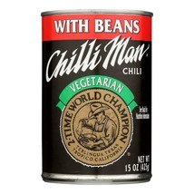 Chilli Man Vegetarian Chili With Beans - Case Of 12 - 15 Oz - $59.46
