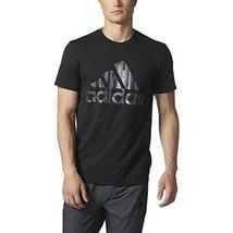 Adidas Badge of Sport Pulse Tee M Black - $29.69