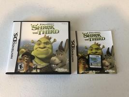 Shrek the Third - DS - Complete CIB - $5.34