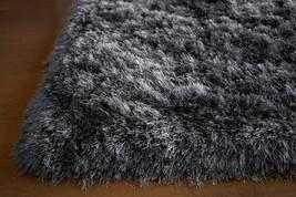 5'x7' Feet Gray Grey Shag Shaggy Area Rug Carpet Rug Solid Plush Pile Po... - $138.60
