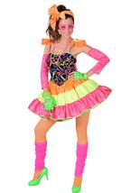 Deluxe 80's Neon Rara Costume - sizes 6 - 22                  - $49.37