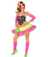 Deluxe 80's Neon Rara Costume - sizes 6 - 22                  - $47.82