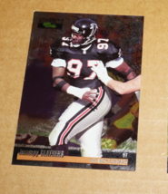 Atlanta Falcons, Jumpy Geathers #36B, Fleer, NFL Football Card - $0.65
