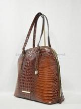 NWT RARE Brahmin Cora Leather Tote / Shoulder Bag / Work Bag in Pecan Me... - £279.82 GBP