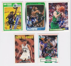 Dallas Mavericks Signed Autographes Lot of (5) Trading Cards - Jackson, ... - $14.99