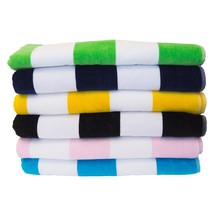 "CABANA TOWEL Beach Pool Eco 100% Cotton MADE IN TURKEY X-Large (35""x 60"") - $21.95+"