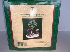 "Dept 56 Twelve Days of Dickens Village Day I ""A Partridge in a Pear Tree"" #58351 - $17.50"