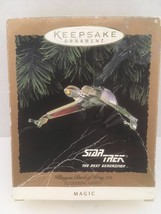 Vintage 90s Hallmark Star Trek Klingon Bird Of Prey Christmas Ornament 1994 - $38.95