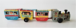 1960 vintage TIN TOY line mar COCOA PUFFS windup litho TRAIN marx IT WOR... - $78.95