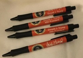 6 TRUMP Signature RED PENS EAGLE SEAL PRESIDENT 45TH PEN w SIGNED name =... - $18.62