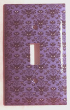 Haunted Mansion purple wallpaper Light Switch Outlet wall Cover Plate Home Decor image 10