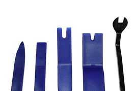 Auto Trim Removal Tool Kit for Upholstery and Interior Repair 5-Piece Set Blue image 3