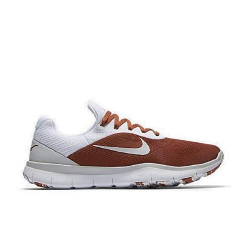 NIKE MEN'S FREE TRAINER V7 WEEK ZERO TEXAS TEAM ISSUED LONGHORN SHOE SNEAKERS