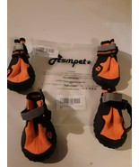"""Asmpet Injection Orange Dog Boots #5 2.75 inches L x 2.36"""" W Waterproof - $21.73"""