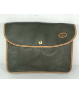 Land Rover Olive Green Faux Leather Storage Pouch - $29.09