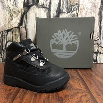 TIMBERLAND TODDLER TD BLACK HIKER FIELD BOOT NIB WATER PROOF ALL SIZES (... - $49.99