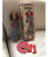 1971 Hasbro The World Of Love Doll Flower In Original Clothes And Box - $59.39