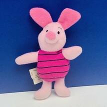 Piglet plush stuffed animal Walt Disney Store Winnie Pooh bean bag disne... - $9.70