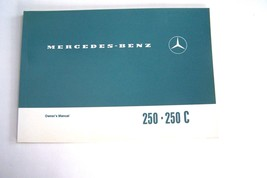 1970 1971 Mercedes 250C 250 Owners Manual Parts W114 Service 1969 new re... - $123.74
