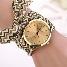 Women Watches Geneva Ladies flower cloth wristwatch fashion high quality... - $7.56+