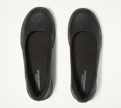 Skechers GO Walk Lite Slip-On Shoes Gem Black 8 W - $49.49