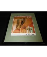 1984 Benson & Hedges 100s Lights Cigarettes Framed 11x14 ORIGINAL Advert... - $32.36