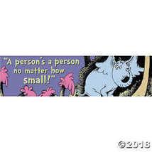 Dr. Seuss a Person¡®s a Person Banner - $6.36