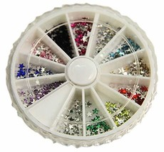 300 PCS Attactive Star Pattern For Nail Art Decoration, Multicolor image 2