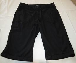 St. Johns Bay  Bermuda black shorts 6P 6 P Petite womens juniors GUC - $14.35