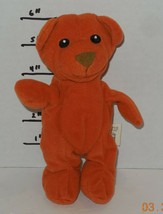 """2006 Lil Luvables Orange Bear Spin Master Toy Teddy 6"""" For Fluffy Factory - $14.03"""