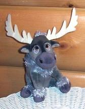 Disney FROZEN Gray Reindeer SVEN Plush TY Sparkle Beanie Baby NWOT - $7.99