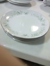 """4 Vintage Fashion Manor China """"Vineyard"""" Bread and Butter Plates - $9.15"""