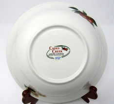 "Cades Creek Round Vegetable Bowl 9"" Excellent Condition - $8.91"