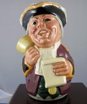 "Royal Doulton Toby Jug ""Mr. Tonsil The Town Crier"" - D6713 - $28.49"