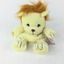 Precious Moments Tender Tails Lion Yellow Plush - $15.31