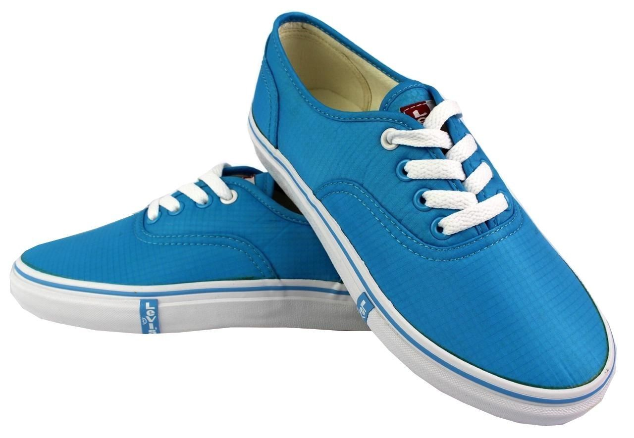NEW LEVI'S WOMEN'S CLASSIC PREMIUM ATHELTIC SNEAKERS SHOES RYLEE 524342-62U AQUA