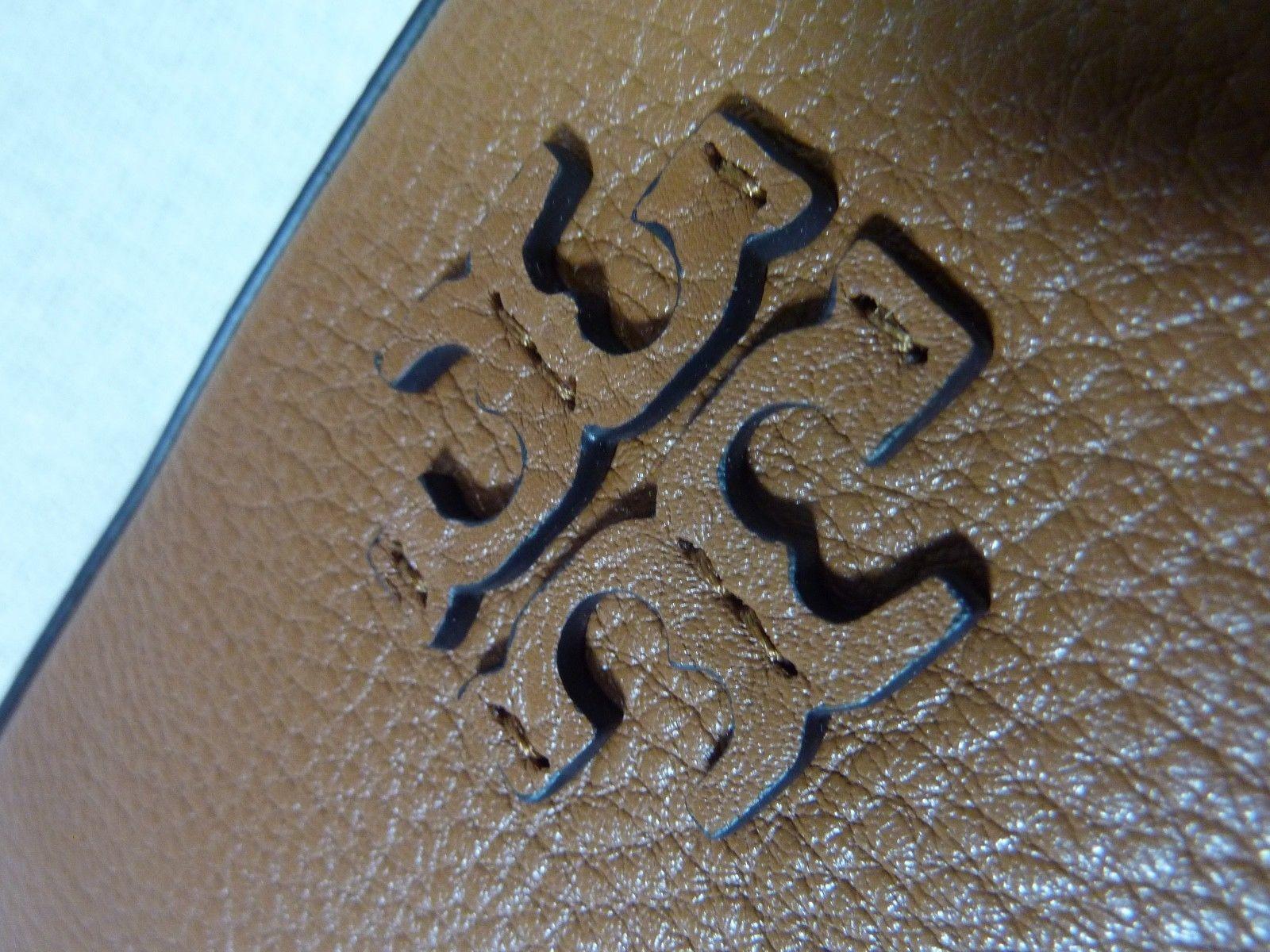 NWT Tory Burch Bark Pebbled Leather Taylor Camera Cross Body Bag